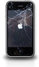broken iphone screen - iphone service