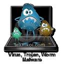 Virus, trojan, malware, spyware