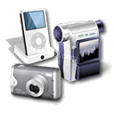 digital equipment - ipod - camcorders